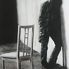 ' The Wait '  100 cm x 60 cm by Warren Haney