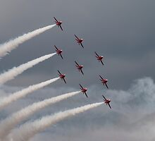 Red Arrows by J Biggadike