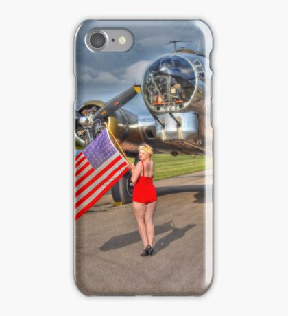 Yankee Girl iPhone Case/Skin