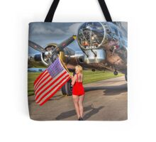 Yankee Girl Tote Bag