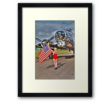 Yankee Girl Framed Print