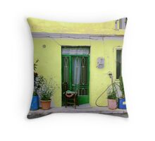 Rustic Tranquility Throw Pillow