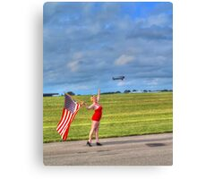 Yankee Girl 2 Canvas Print