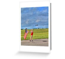 Yankee Girl 2 Greeting Card