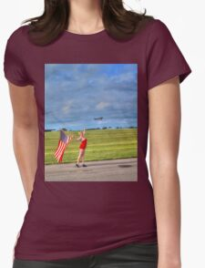 Yankee Girl 2 Womens Fitted T-Shirt