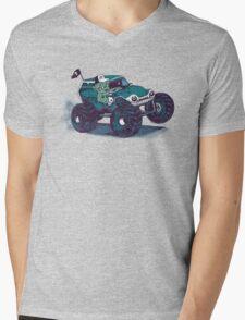 Monster Truckin' Mens V-Neck T-Shirt