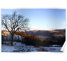 Winter on the Geraint Poster