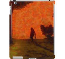 Bigfoot Alone by Sarah Kirk iPad Case/Skin
