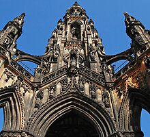Sir Walter Scott Monument by Thomas Banks