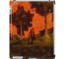 Bigfoot Wandering by Sarah Kirk iPad Case/Skin
