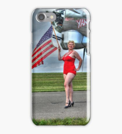 Yankee Girl 3 iPhone Case/Skin