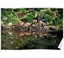 sukhasar. dry lake. indian himalayas Poster
