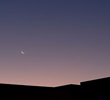 Moon rise by bsn-photography