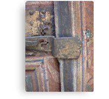 Door enhanced by age Canvas Print