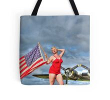 Yankee Girl 4 Tote Bag