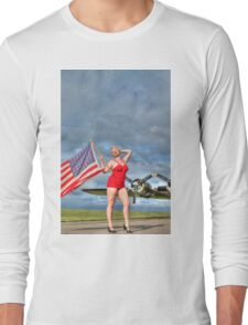 Yankee Girl 4 Long Sleeve T-Shirt