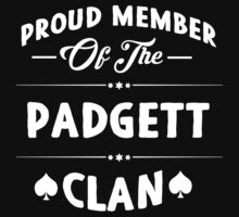 Proud member of the Padgett clan! by keepingcalm
