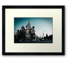 St.Basil's Cathedral Framed Print