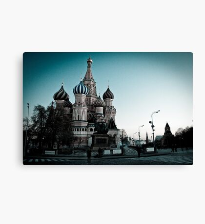 St.Basil's Cathedral Canvas Print