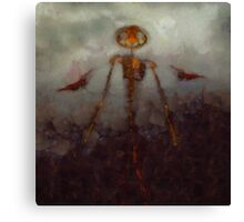 It Came From Hell by Sarah Kirk Canvas Print
