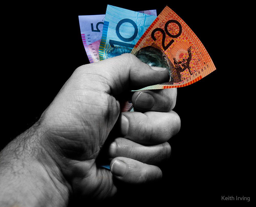 A Fistful of Dollars! by Keith Irving