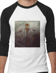 It Came From Hell by Sarah Kirk Men's Baseball ¾ T-Shirt