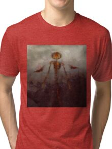 It Came From Hell by Sarah Kirk Tri-blend T-Shirt