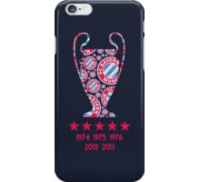 FC Bayern Munich - Champion League Winners iPhone Case/Skin