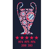 FC Bayern Munich - Champion League Winners Photographic Print
