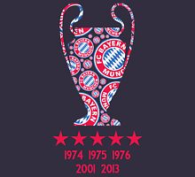 FC Bayern Munich - Champion League Winners Unisex T-Shirt