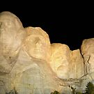 MOUNT RUSHMORE ILLUMINATED by FSULADY