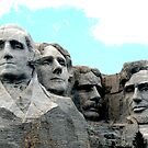 MOUNT RUSHMORE PRESIDENTS  by FSULADY