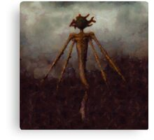 Nightmare Monster by Sarah Kirk Canvas Print