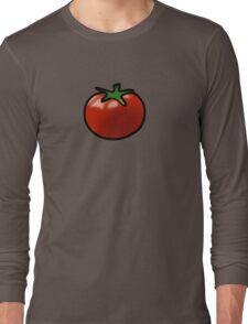 Fresh red juicy tomato Long Sleeve T-Shirt