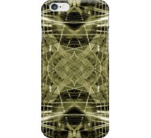 Futuristic construction pattern iPhone Case/Skin