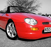 MG MGF Red by Anna Leworthy
