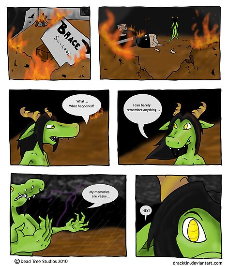 Dracktin Page 1 by Forefox