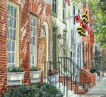 William Street Summer by John Schuller