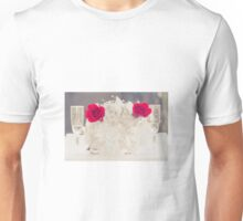 Roses and Glasses Unisex T-Shirt