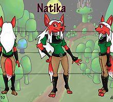 Natika Character Sheet by Forefox