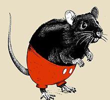 Rattus Americanus by Lopesco