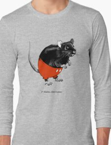 Rattus Americanus Long Sleeve T-Shirt