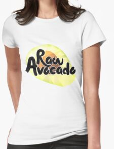 Raw Avocado Womens Fitted T-Shirt