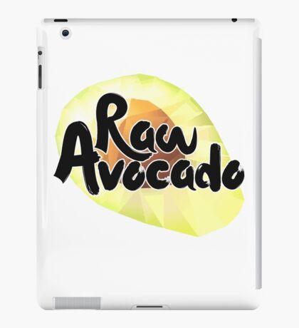 Raw Avocado iPad Case/Skin