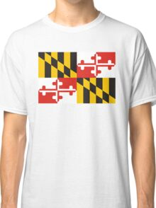 maryland state flag Classic T-Shirt