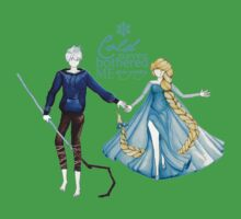 Cold never bothered me anyway (Jelsa) Kids Clothes