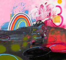 Number 1 (Rainbow Series) by Nathan Pendlebury