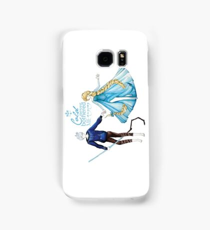 Cold never bothered me anyway (Jelsa) Samsung Galaxy Case/Skin