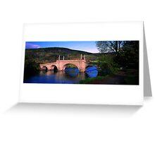 General Wade Bridge Greeting Card