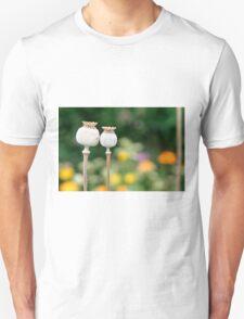 Sleeping Poppy Seeds Unisex T-Shirt